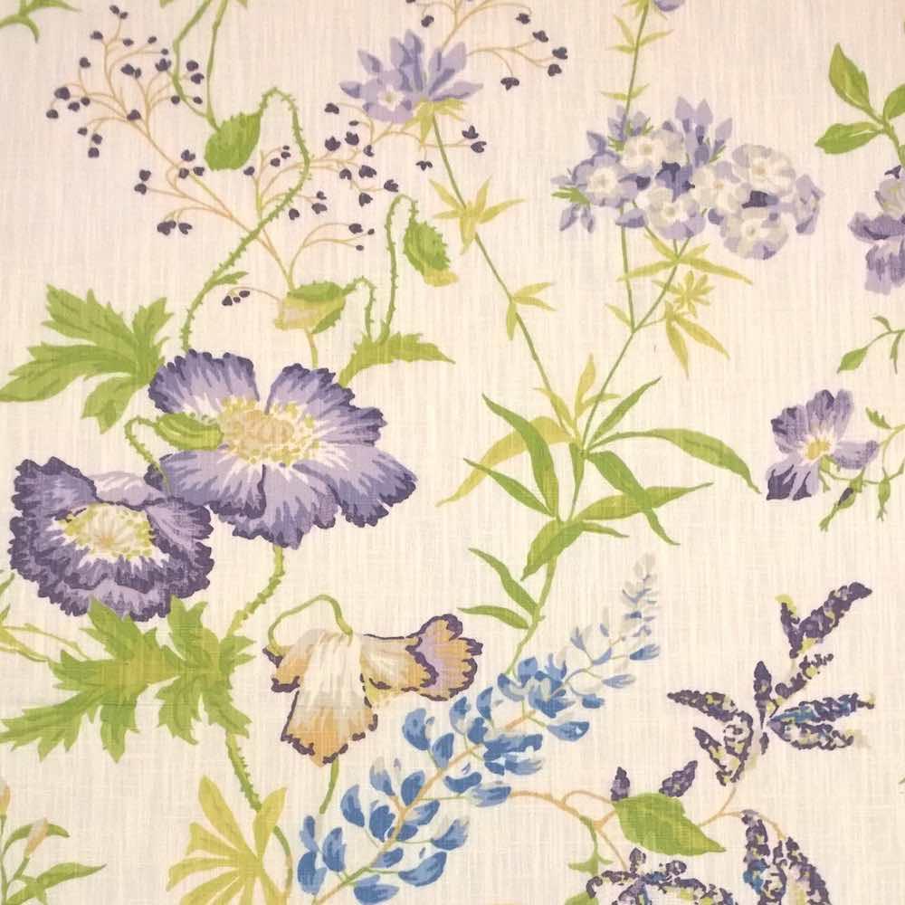 Stoff NEISHA Lavender Natural Von LAURA ASHLEY